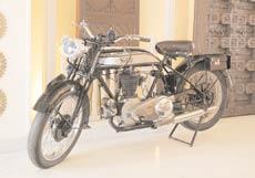 A 1922 Norton 500