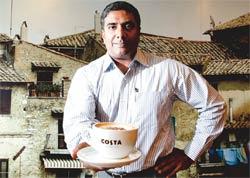 Santhosh Unni, CEO, Costa Coffee India