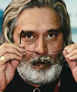 In trouble: Vijay Mallya