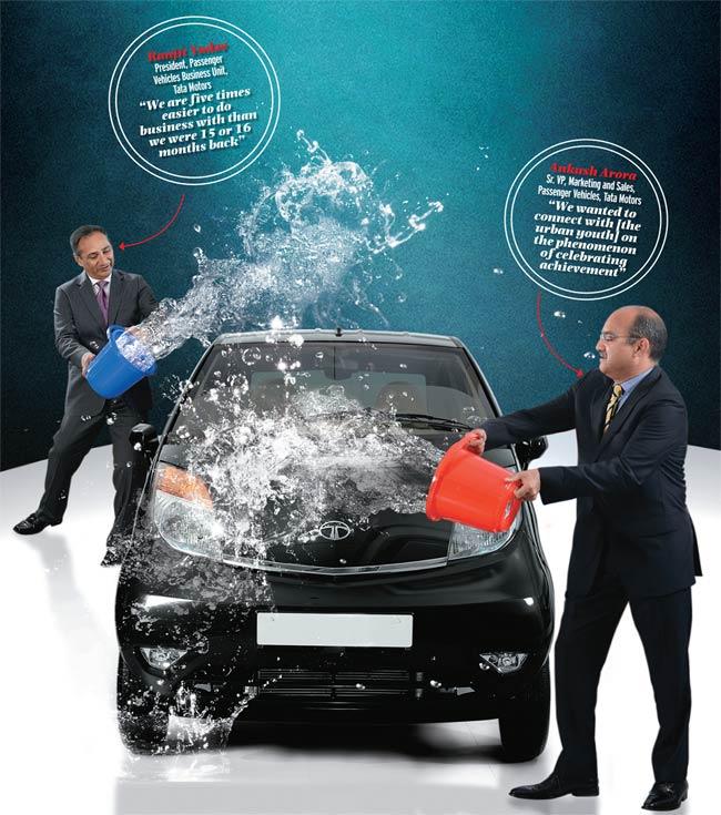 Tata Motors' Ranjit Yadav and Ankush Arora