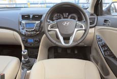 The new Verna is a very comfortable ride, with spacious interiors and great equipments