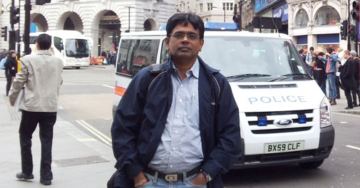 N Madhavan in London