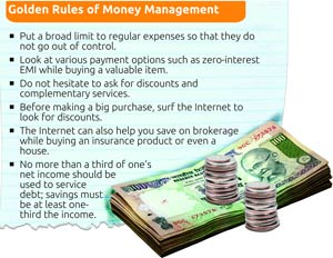 Golden rules of money management