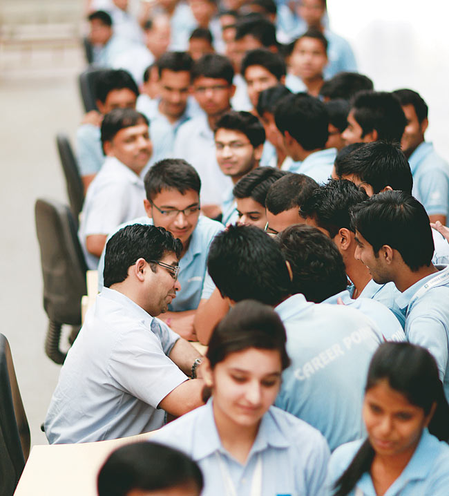Coaching centres offer a range of academic and non-academic services to lure students.