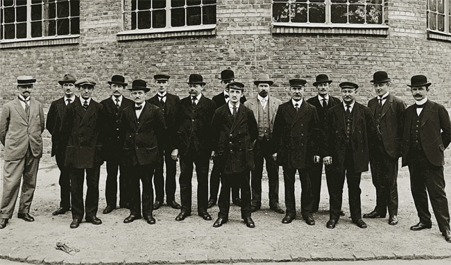 The first 15 employees