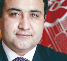 Wahidullah Shahrani, Minister of Mines, Afghanistan