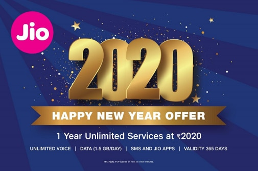 Reliance Jio S 2020 Happy New Year Offer Check Out Recharge Plan Data Price