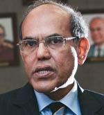 Reserve Bank of India (RBI) Governor Duvvuri Subbarao