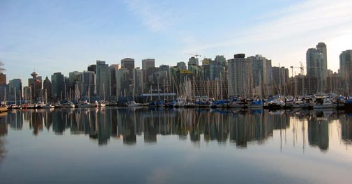 Vancouver in Canada (Jeremy Liebman)