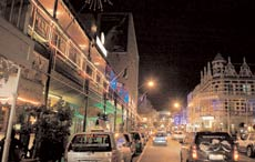 Long Street's cafes and bars have an all day and night vibe