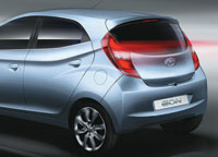 Back view of Eon