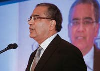 Aroon Purie, Editor-in-Chief, India Today Group, addressing the audience
