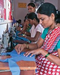 A tailoring class