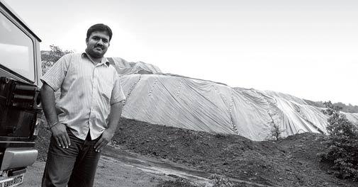 Vijay Desai, Farmer in Pissurlem, Goa