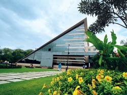 Big players: The Infosys campus in Bhubaneswar