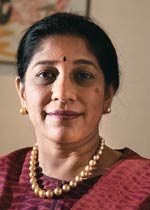 Tractors and Farm Equipment chairman and CEO Mallika Srinivasan