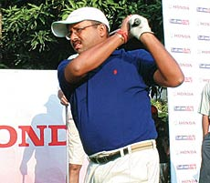 Abhay Pasari was part of the runners-up side in the team event