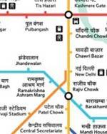 Delhi Metro Navigation (Android OS)