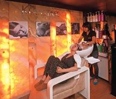 A hair treatment at a salon in Mumbai
