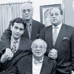 The Nanda family