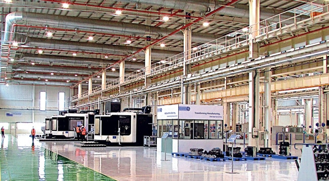 GE's new multimodal plant at Chakan, near Pune