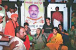 In mourning: For farmer Choori, who lost his life in police firing