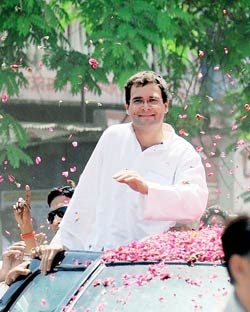 What is Rahul Gandhi's role in India's economic policy?