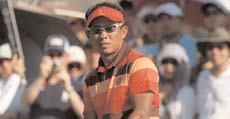 Thailand's ace golfer Thongchai Jaidee at the 2011 Royal Trophy