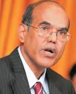 D. Subbarao, RBI governor
