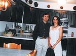 Asif Adil with wife Padma at their Mumbai home