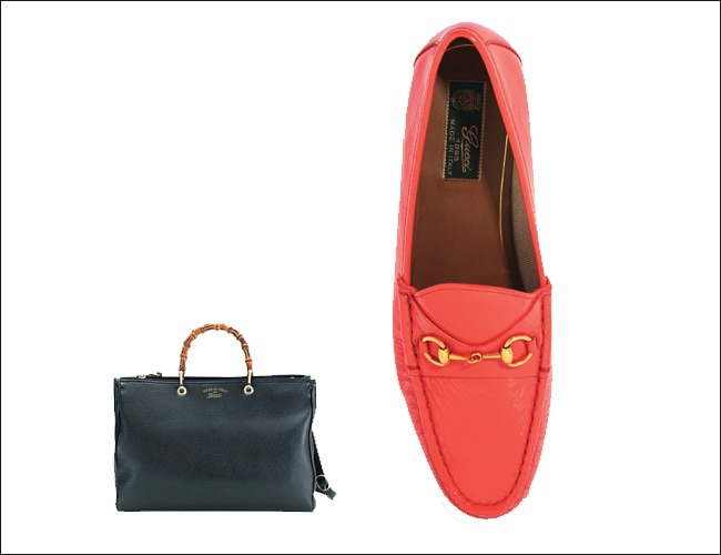 Gucci Bamboo Bag and Horsebit Loafer