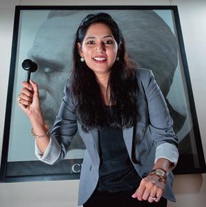 Menaka Kumari-Shah, erstwhile princess of Tehri Garhwal and Director, Christie's India