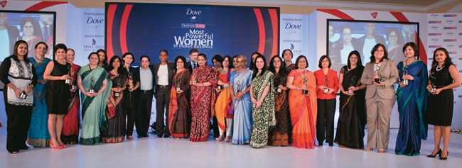 The Most Powerful Women in Indian Business winners