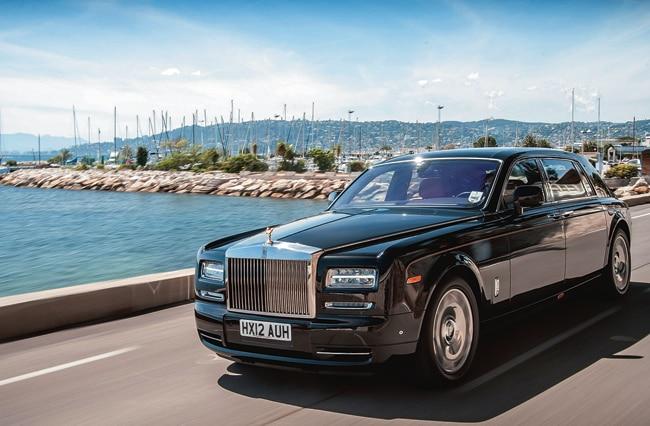 The Rolls-Royce Phantom