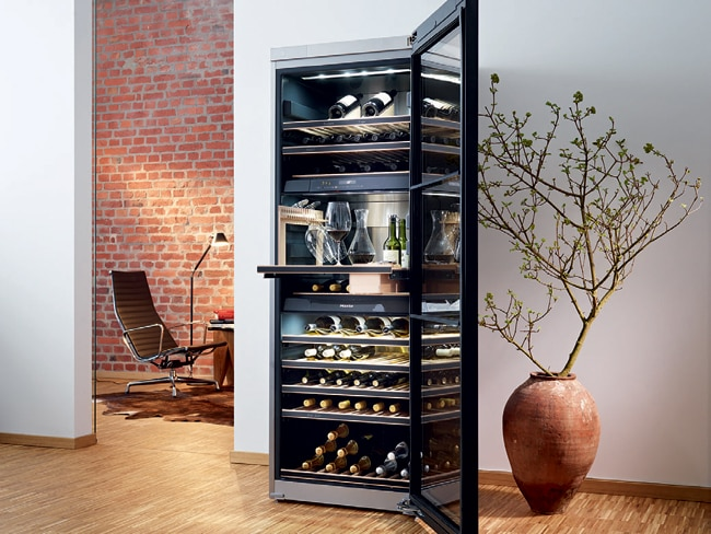 The 505-litre flagship wine unit from Miele - KWT 6832 SGS