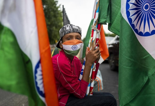 In pics: An Independence Day full of masks