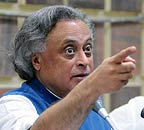 Minister for Environment and Resources Jairam Ramesh