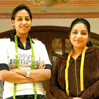 Shikha (left) and Ruby