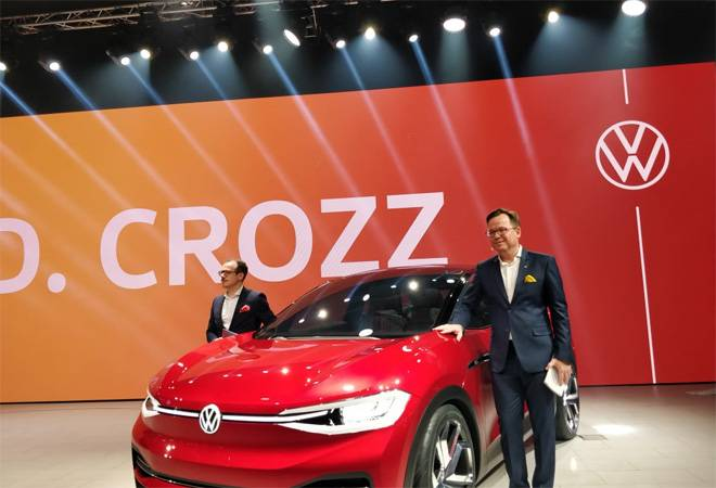 Auto Expo 2020: Volkswagen unveils electric concept ID. Crozz and its fastest Polo in India