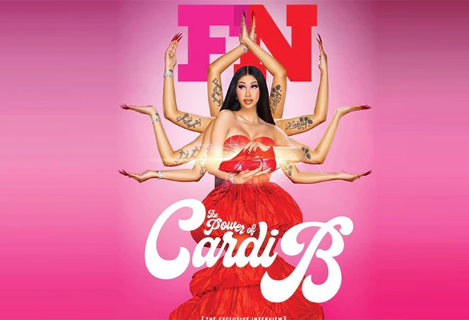 Cardi B apologises for Goddess Durga inspired sneakers ad