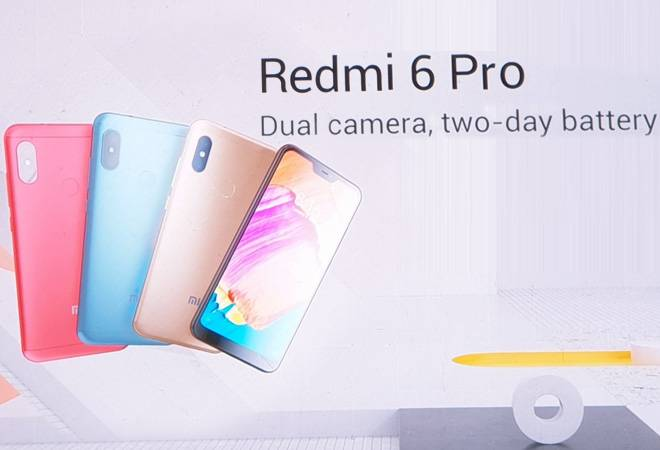 Xiaomi launches Redmi 6 Series; prices start at Rs 5,999