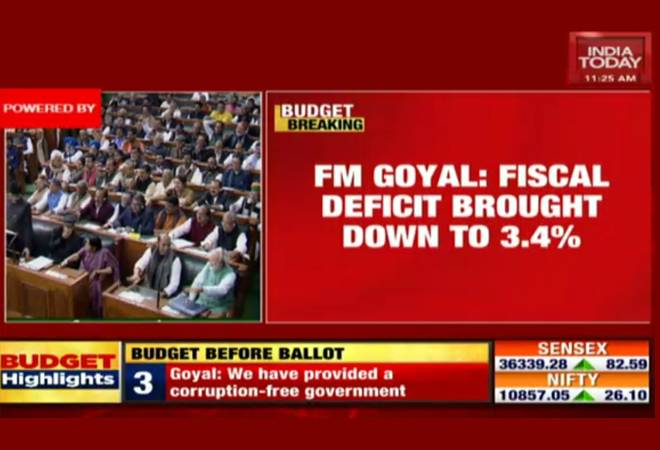 Budget 2019-20: Watch live streaming on India Today TV