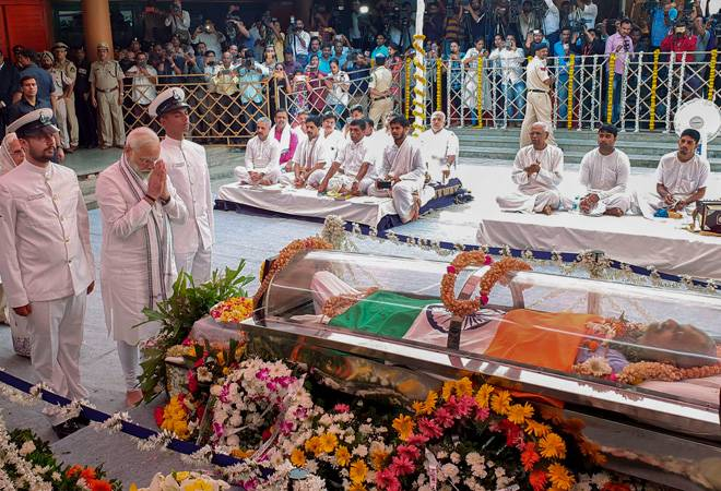 Manohar Parrikar's funeral updates: Pramod Sawant to swear-in as Goa's new CM