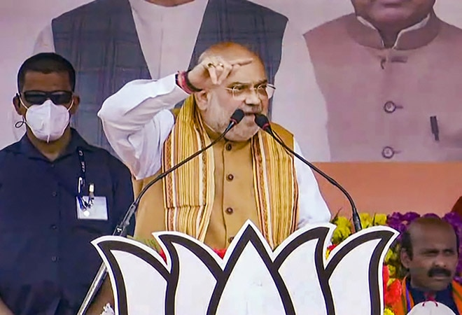 BJP manifesto for Bengal elections: Emphasis on women's safety, infra development, healthcare, says Amit Shah