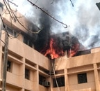 Major fire breaks out at Noida Metro office; probe ordered