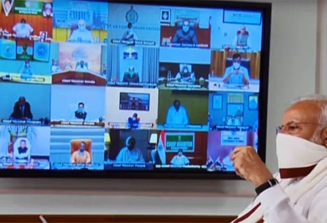 PM Modi video conference: Delhi, Punjab, Maharashtra support nationwide extension of lockdown