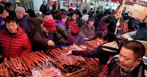 China's pork imports reach record high, jump 170% in April