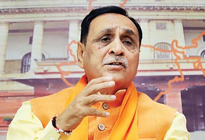 Gujarat CM Vijay Rupani tests COVID-19 positive day after collapsing at Vadodara rally