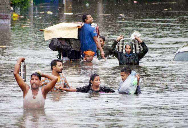 Bihar flood: 66 lakh affected; CM Nitish Kumar makes aerial survey