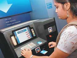 Banking on technology: A biometric ATM